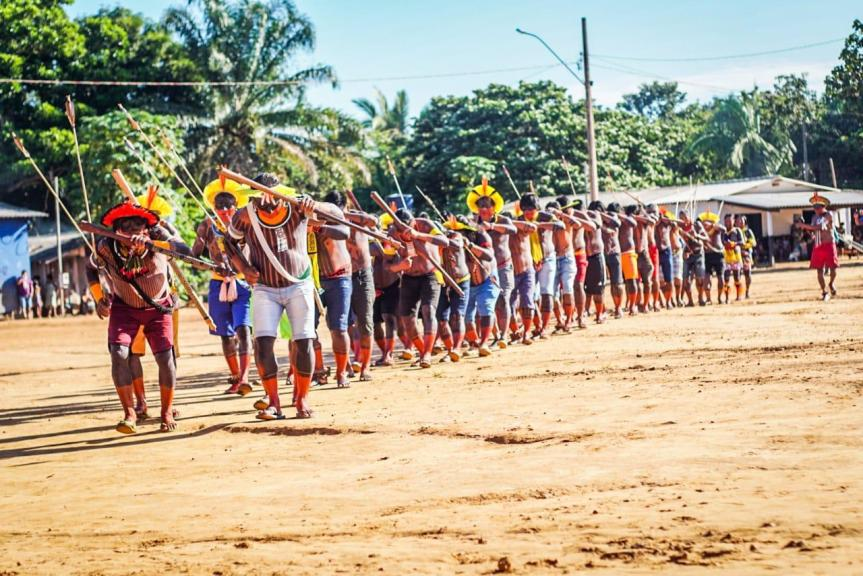 Huge meeting sees over 47 Indigenous peoples come together in Brazil